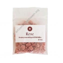Rose échantillon