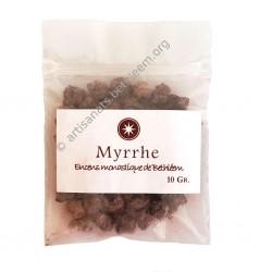 Myrrhe échantillon