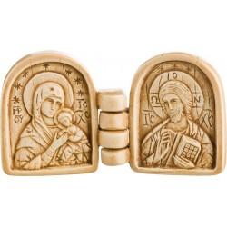 Christ et Vierge à l'Enfant...
