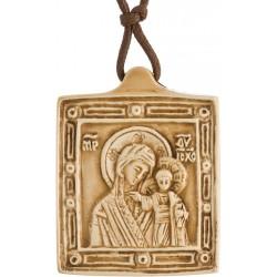 Vierge à l'Enfant (avec lacet)