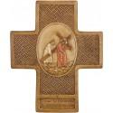 Simon de Cyrène aide Jésus à porter sa croix