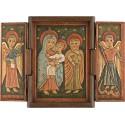 Sainte Famille avec Archanges Gabriel et Michel