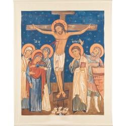 Crucifixion (fond bleu)