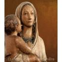 Qui regarde vers lui resplendira — Sculptures