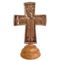 Croix d'autel Jésus Grand...