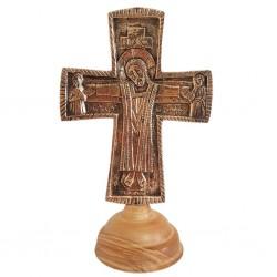 Croix d'autel Jésus Gd...