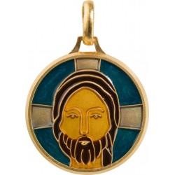 Visage du Christ (cloisonné)