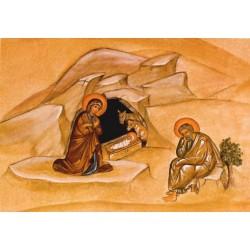 Fresque de la Nativité de...