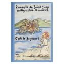 Evangile de Saint Jean calligraphié et illustré