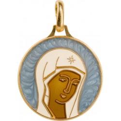 Visage de la Vierge...