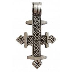 Croix Ethiopienne en étain