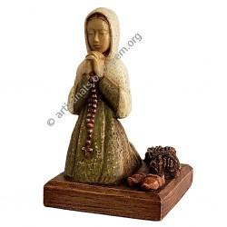 Sainte Bernadette au Fagot