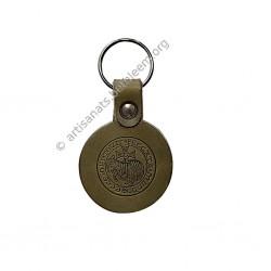 Porte-clef rond, Agneau de Dieu