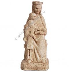 Vierge du Saint Livre