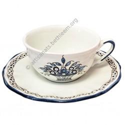 Tasse + soucoupe à thé
