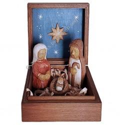 Nativité en coffret (Jésus-Marie-Joseph)