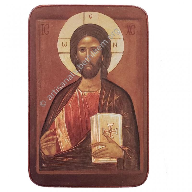 Christ en habit de feu