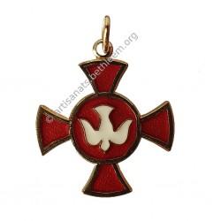 Croix avec Colombe