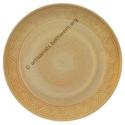 Assiette plate n°2 / Triangle