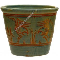 Vase cache-pot droit grand...