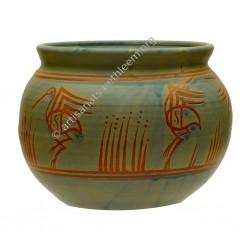 Vase cache-pot rond petit /...