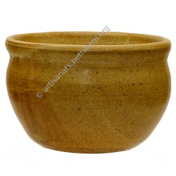 Vase cache-pot rond grand